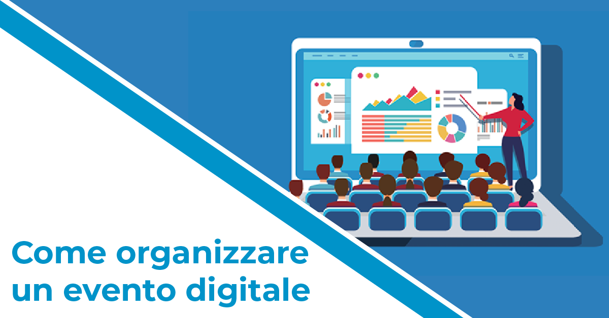 come organizzare evento digitale