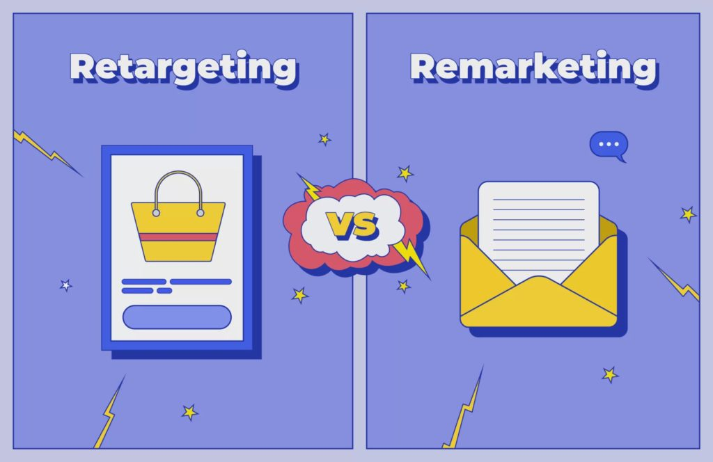 retargeting e remarketing differenze