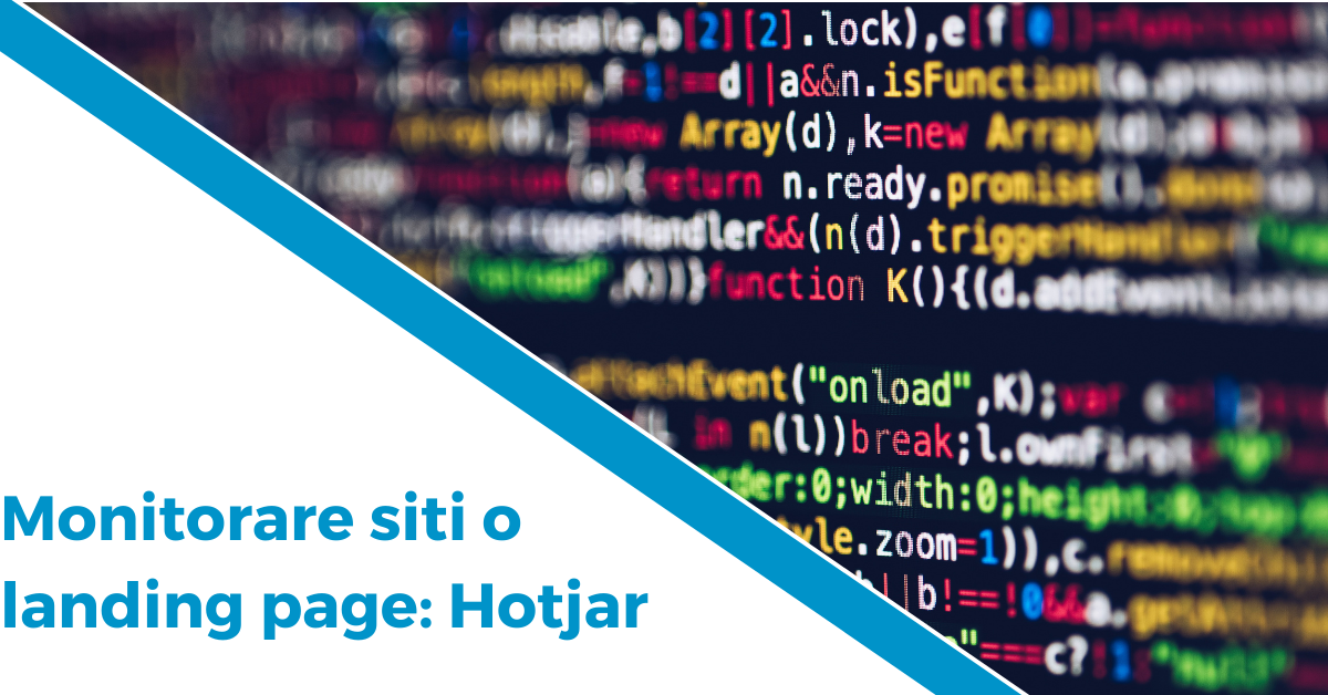 Monitorare siti o landing page Hotjar